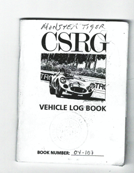 Monster Tiger logbook