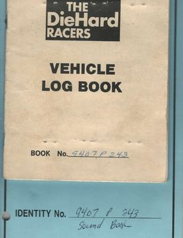 Concours Mk1 logbooks 70515