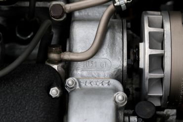 Engine bay and number stampings 12